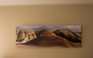 The Sleeping Giant, as a large size direct print on Dibond (180x60 cm), hanging on my own wall